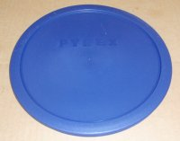 NEW Pyrex Mixing Bowl Plastic Rubber Storage Cover Lid 7403 BLUE