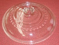 Wagner C-8 Cast Iron Skillet Dutch Oven GLASS Lid Cover ONLY