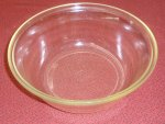 RARE Early Pyrex 1st Stamp 100 Round Glass Casserole Bakeware XC