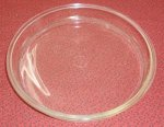 RARE EARLY Vintage 1st Backstamp Pyrex 221 Glass Cake Pan Dish